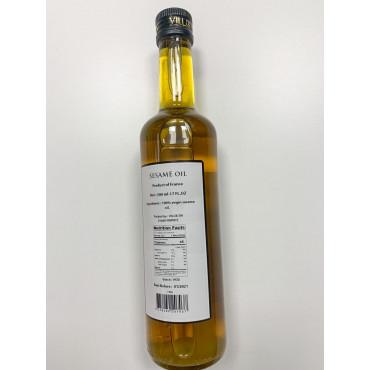 Õli seesami hele 500ml VILUX/BIOLOGIC OILS