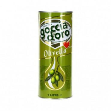 Oliivjääkõli plekkpurk 1L, COCCIA D'ORO