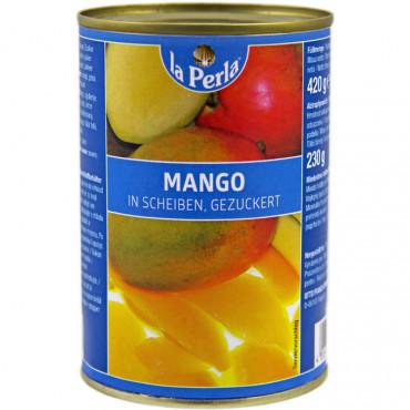 Mango kerges siirupis 420g/230g, La PERLA