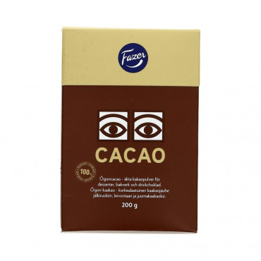 Kakaopulber 200g, FAZER