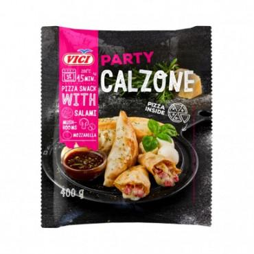 Calzone salaami seente ja mozzarellaga külm. 400g VICI