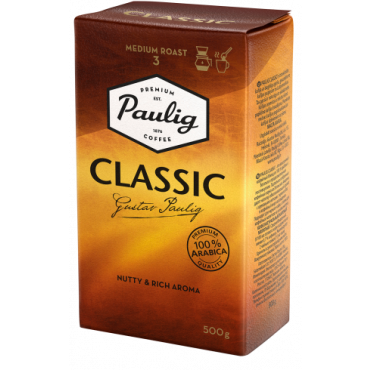 Kohv classic 500g, PAULIG