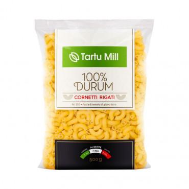 Pasta Cornetti 100% durum 500g Tartu Mill