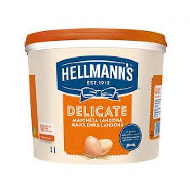 Majonees Delicate 5L HELLMANN'S