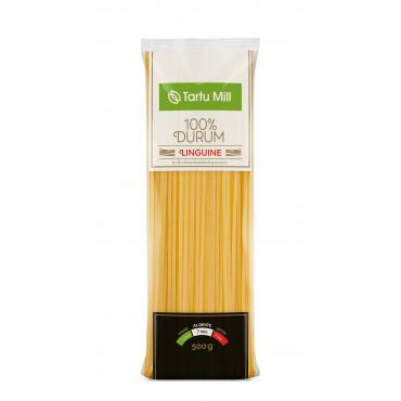 Pasta Linguine lintspagetid 100% durum 500g TARTU MILL