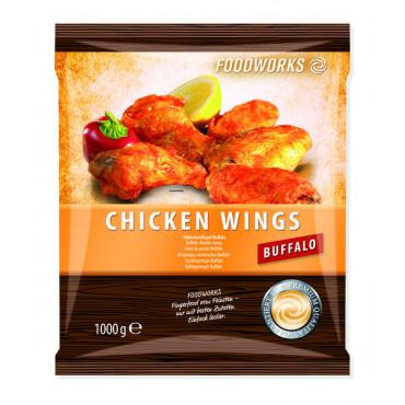 Kanatiivad paneeritud BUFFALO 1kg Foodworks külmutatud