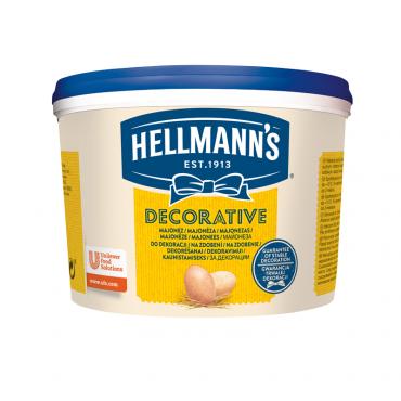 Majonees decorative 78% 3L, HELLMANN'S