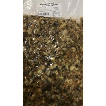 Tükeldatud riisikatesegu soolane vaakumis 2kg