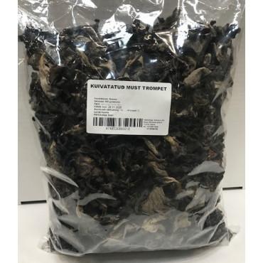 Kukeseened mustad kuivatatud, 500g