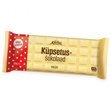 Küpsetusšhokolaad valge 200g, KALEV