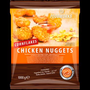 Kananagitsad maisipaneeringus külmutatud 1kg Foodworks