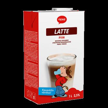 Piim latte tetra 2,5% 1L, TERE