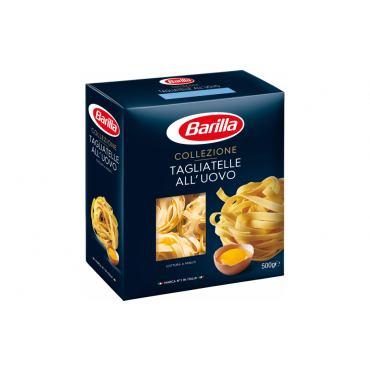 Pasta Tagliatelle pappkarp 500g, BARILLA