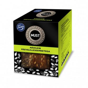 Näkileib must päevalille seemnetega 150g FAZER