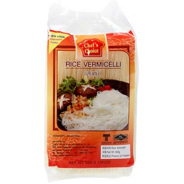Riisi niitnuudlid 454g, CHEF'S CHOICE