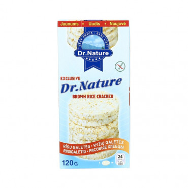 Riisigaletid 120g DR.NATURE