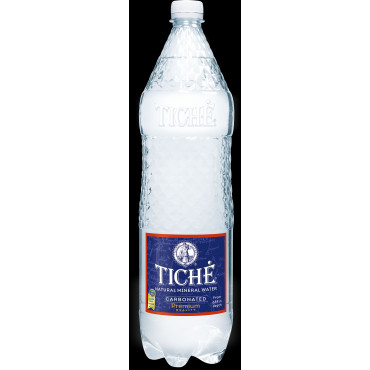 Vesi mineraalne gaseeritud 1,5L Tiche blokk 6tk