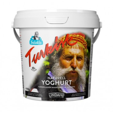 Türgi jogurt turkisk naturel 10% 1kg, LINDAHLS