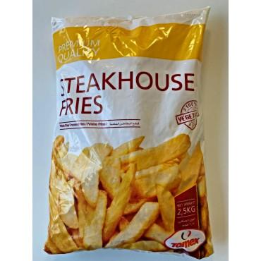 Friikartulid Steakhouse, lai, külm. 2,5 kg, Tomex