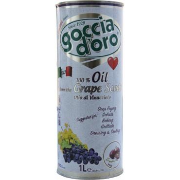 Viinamarjaseemneõli 1L, GOCCIA D'ORO