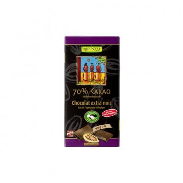 Šhokolaad mõru 70% kakaod 80g RAPUNZEL