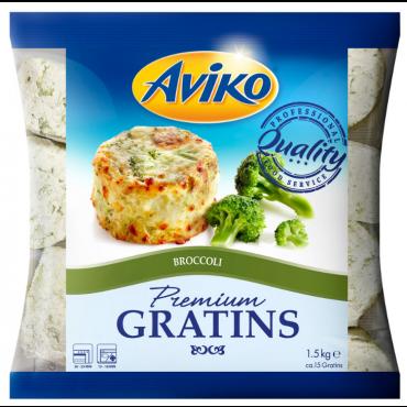 Kartuligratään brokkoliga külmutatud 1,5kg, AVIKO